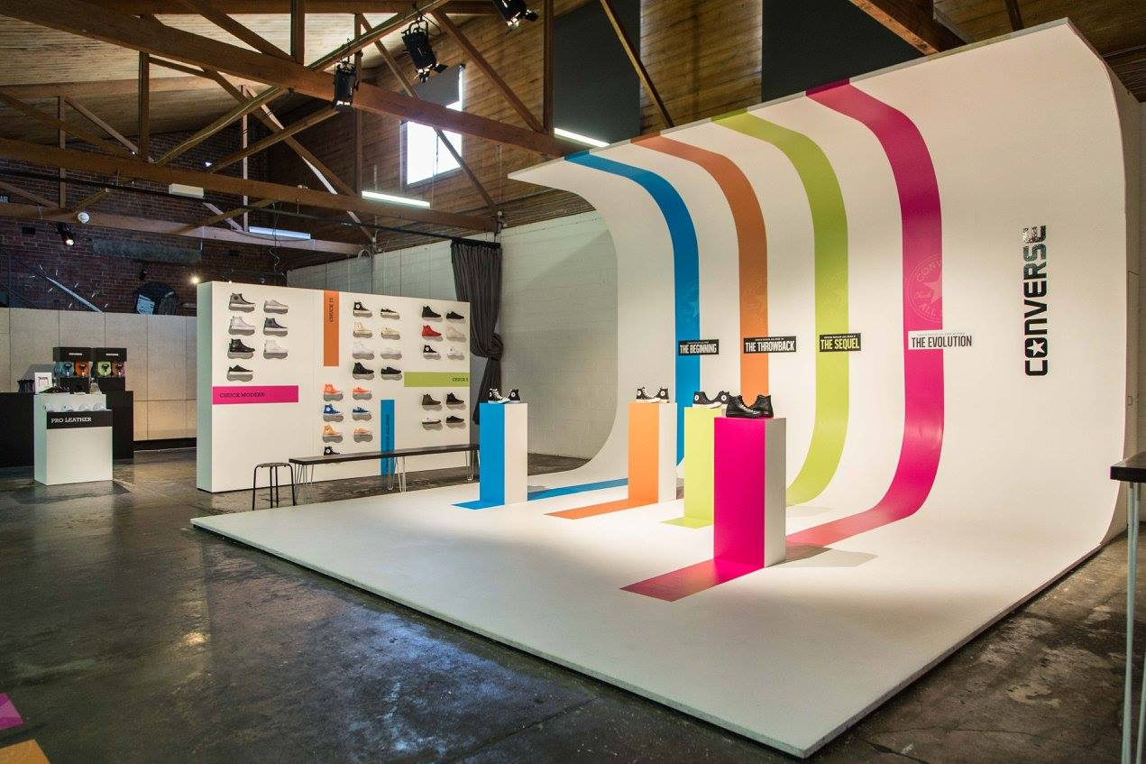Converse SS17 Preview - Rokeby Studios.  Event Design Dot Dot Dash. Photo credit Life Without Andy