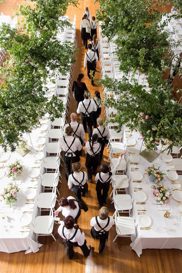 south melbourne town hall wedding. styling by georgeous. photo: fran parker