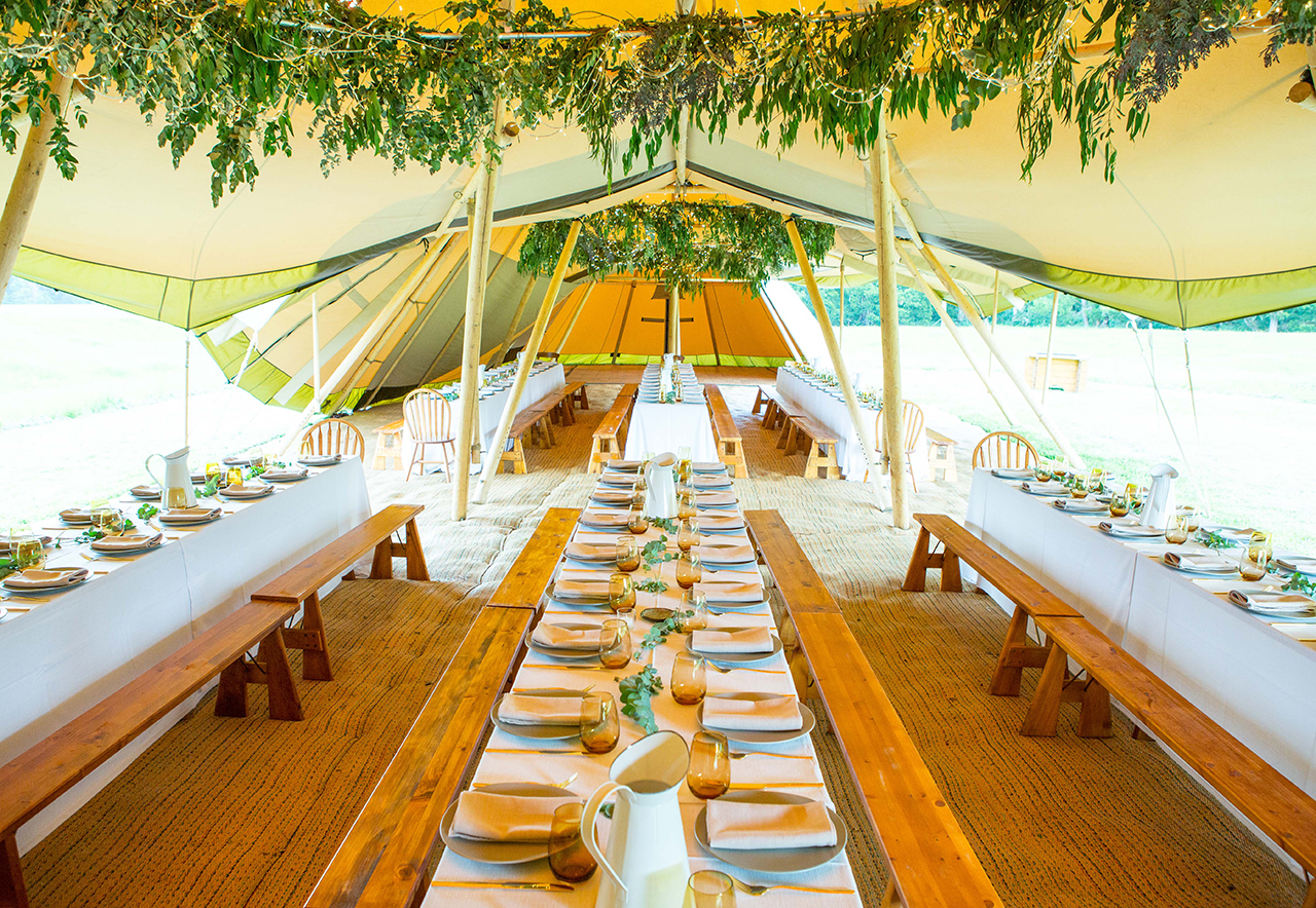 marquee wedding. event management - short and spook. photo credit  miss through my eyes