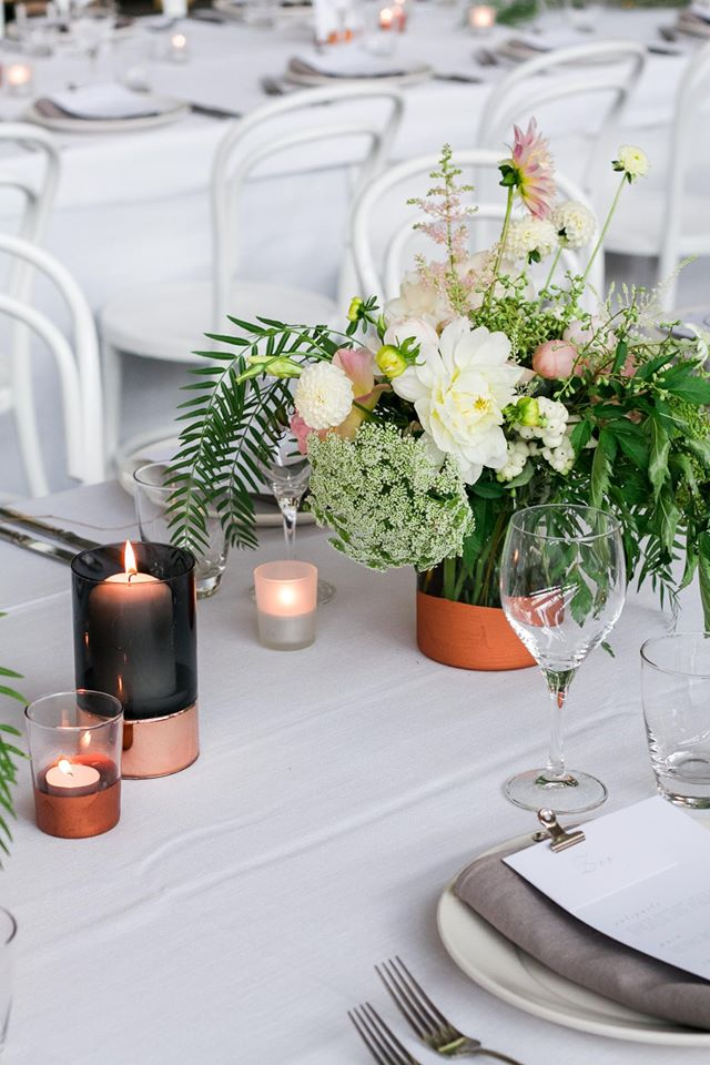 laurens hall wedding. styling by georgeous, photo: fran parker