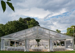 dog flat marquee. royal botanic gardens.  photo credit sarah wood photography