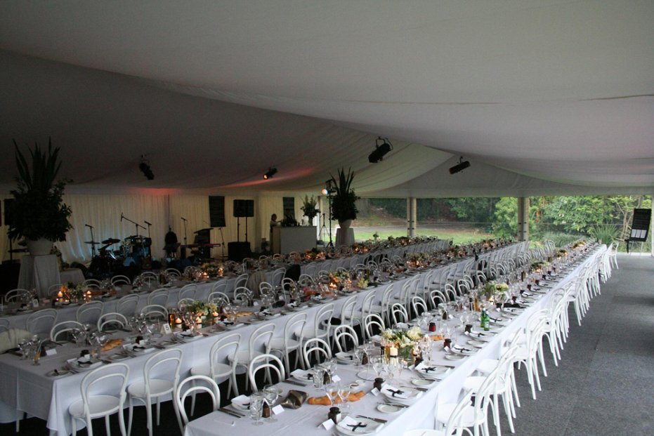 dog flat marquee. royal botanic gardens