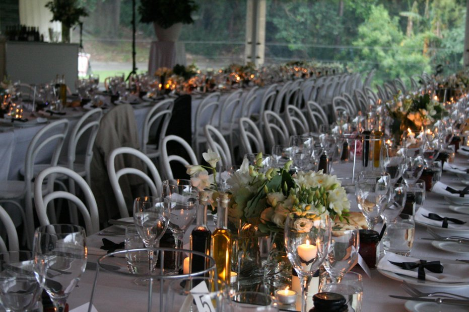 dog flat marquee. royal botanic gardens. styling and event management by blakes feast